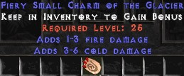 1-3 Fire Damage w/ 3-6 Cold Damage SC