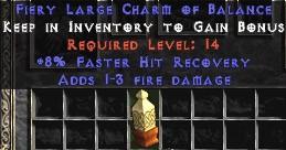 1-3 Fire Damage w/ 8% FHR LC