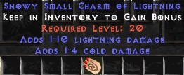 1-4 Cold Damage w/ 1-10 Lightning Damage SC