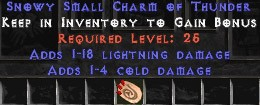 1-4 Cold Damage w/ 1-18 Lightning Damage SC
