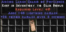 1-58 Lightning Damage w/ 25 Poison Damage LC