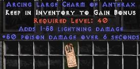 1-58 Lightning Damage w/ 50 Poison Damage LC