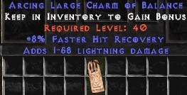 1-58 Lightning Damage w/ 8% FHR LC