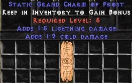 1-5 Lightning Damage w/ 1-2 Cold Damage GC