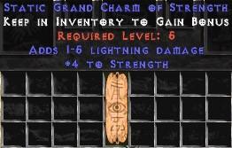 1-5 Lightning Damage w/ 4 Str GC