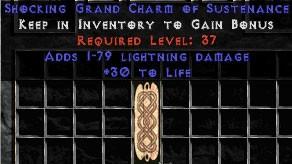 1-79 Lightning Damage w/ 30 Life GC