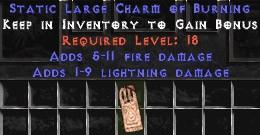 1-9 Lightning Damage w/ 5-11 Fire Damage LC