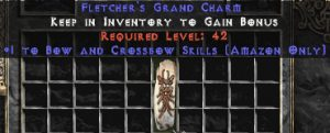 Amazon Bow & Crossbow Skills GC (plain)