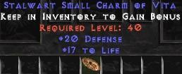 20-26 Defense w/ 16-19 Life SC