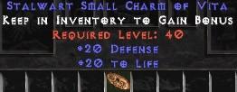 20-26 Defense w/ 20 Life SC