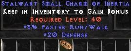 20-26 Defense w/ 3% FRW SC