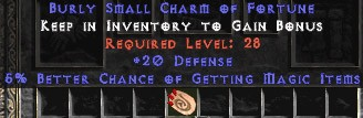 20-26 Defense w/ 5-6% MF SC