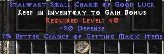20-26 Defense w/ 7% MF SC