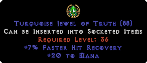 20 to Mana / 7% FHR Jewel