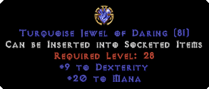 20 to Mana / 9 Dexterity Jewel