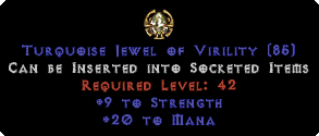 20 to Mana / 9 Strength Jewel