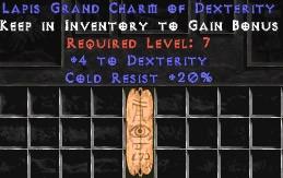 20 Resist Cold w/ 4 Dex GC