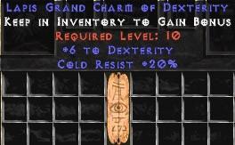 20 Resist Cold w/ 6 Dex GC