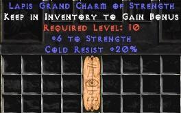 20 Resist Cold w/ 6 Str GC