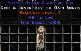 20 Resist Fire w/ 15 Life GC