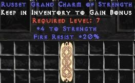 20 Resist Fire w/ 4 Str GC