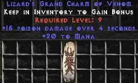 20 Mana w/ 15 Poison Damage GC