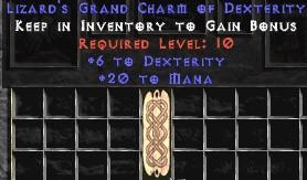 20 Mana w/ 6 Dex GC