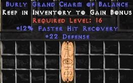 22 Defense w/ 12% FHR GC