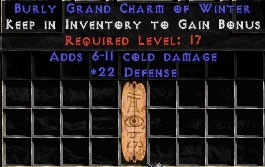 22 Defense w/ 6-11 Cold Damage GC