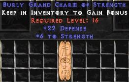 22 Defense w/ 6 Str GC