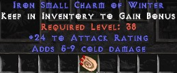 24 Attack Rating w/ 5-9 Cold Damage SC