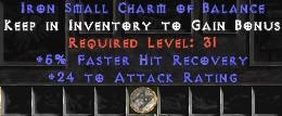 24 Attack Rating w/ 5% FHR SC