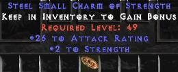25-32 Attack Rating w/ 2 Str SC