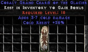 25 Resist Cold w/ 3-7 Cold Damage GC