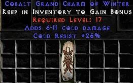 25 Resist Cold w/ 6-11 Cold Damage GC