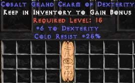 25 Resist Cold w/ 6 Dex GC