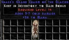 26 Mana w/ 3-7 Cold Damage GC