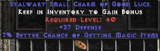 27-29 Defense w/ 7% MF SC