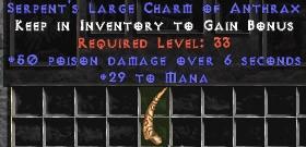 29 Mana w/ 50 Poison Damage LC