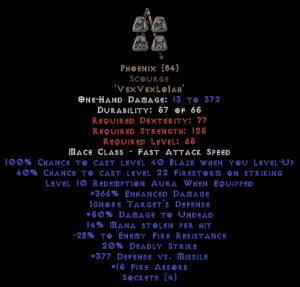 Phoenix Scourge - 350-379% ED