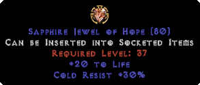 30 Cold Res / 20 to Life Jewel