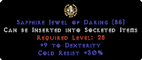 30 Cold Res / 9 Dexterity Jewel