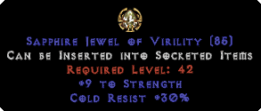 30 Cold Res / 9 Strength Jewel