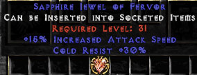 30 Cold Res/15% IAS Jewel