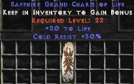 30 Resist Cold w/ 20 Life GC