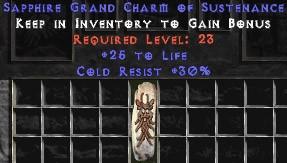 30 Resist Cold w/ 25 Life GC