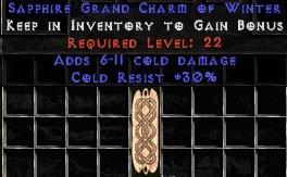 30 Resist Cold w/ 6-11 Cold Damage GC