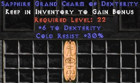 30 Resist Cold w/ 6 Dex GC