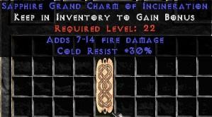 30 Resist Cold w/ 7-14 Fire Damage GC