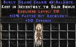 30 Defense w/ 12% FHR GC